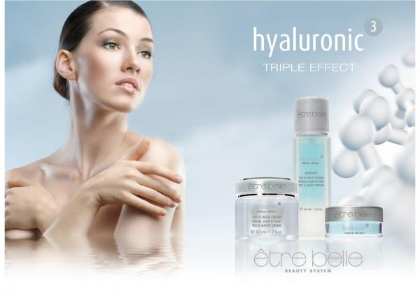 "Pflegeserie ""hyaluronic³"" TRIPLE EFFECT"